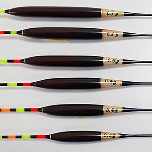 浅いタナのセット・両ダンゴ・深宙・短竿チョウチン・底釣り・沖宙などタナや釣り方に応じたへら浮きシリーズ